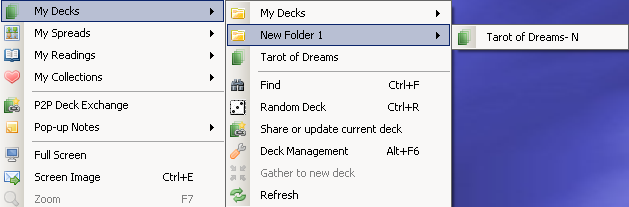 Peer-to-Peer File/Deck Downloaded My Decks List