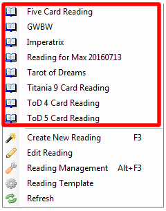 My Readings List