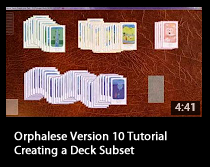 Tutorial - Creating a Deck Subset