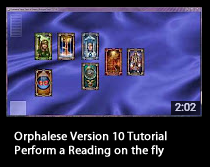 Tutorial - Perform a Reading on the fly